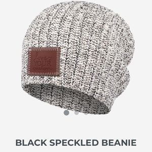 Love Your Melon Beanie - Black Speckled